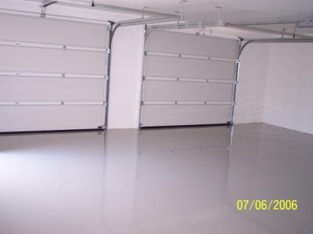 Epoxy gulvmaling garasje